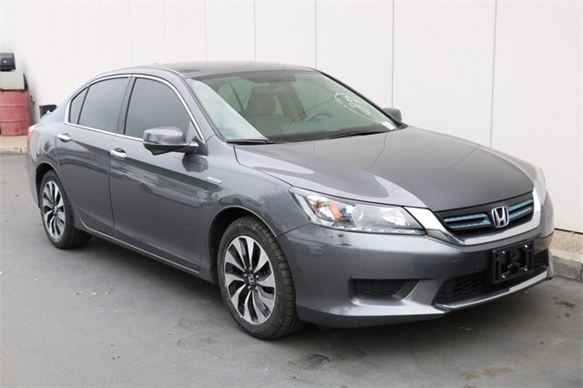 Used 2015 Honda Accord Hybrid in Dark Gray | Dublin Honda