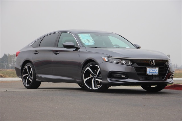 New 2018 honda accord sedan in modern steel metallic for 2018 honda accord manual