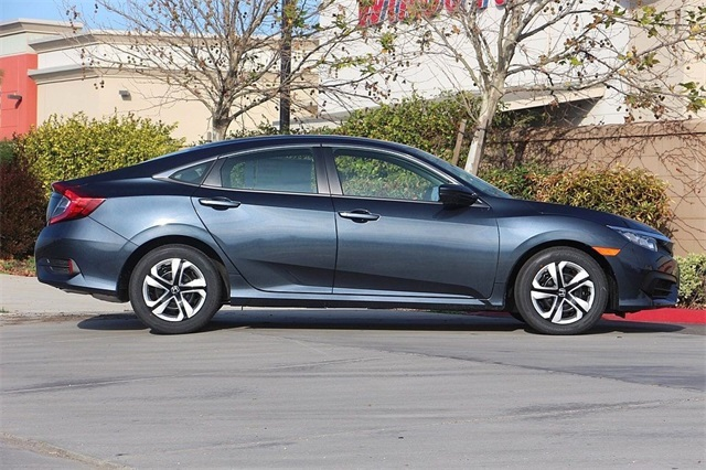 New 2018 Honda Civic Sedan in Cosmic Blue Metallic | Dublin Honda