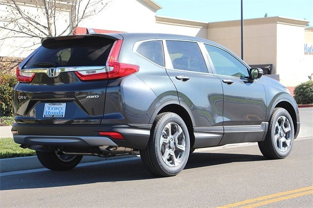New 2018 Honda CR-V in Gunmetal Metallic | Dublin Honda